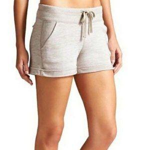 Athleta Downplay Shorts in Cream | Size M